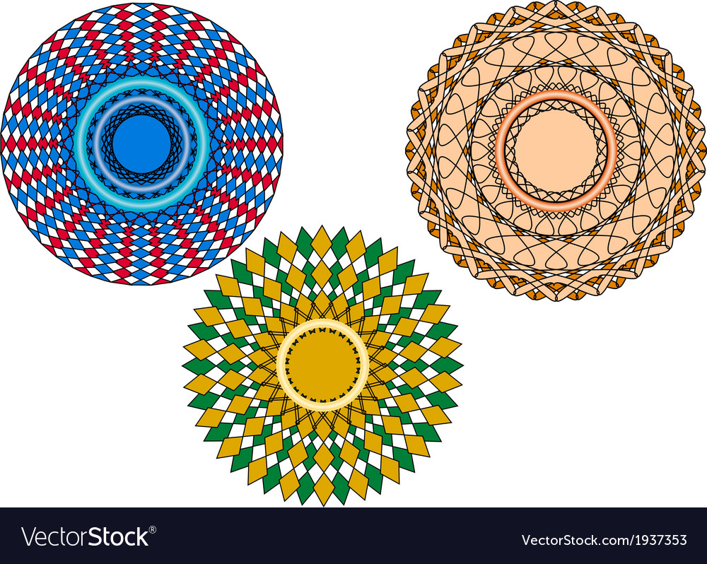 Circular adornments vector | Price: 1 Credit (USD $1)