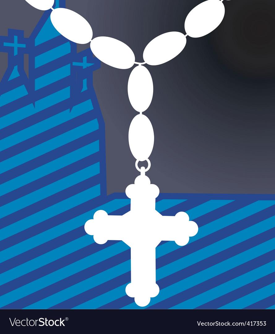 Cross vector | Price: 1 Credit (USD $1)