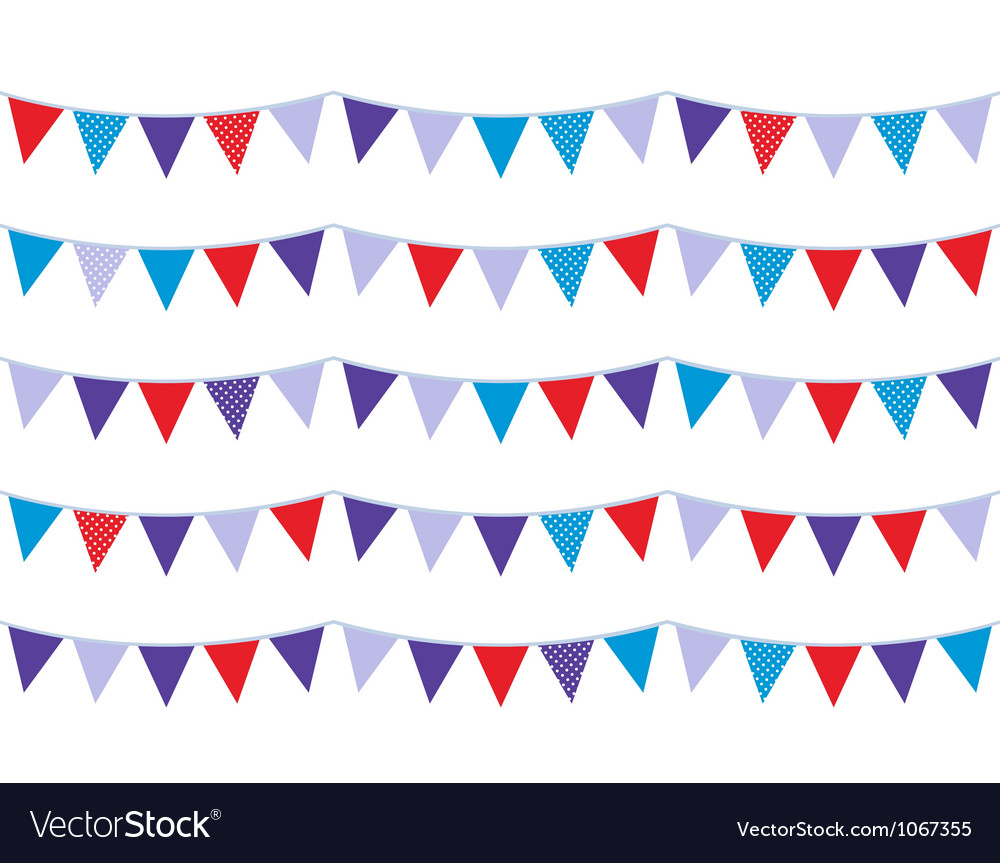 Christmas bunting vector | Price: 1 Credit (USD $1)