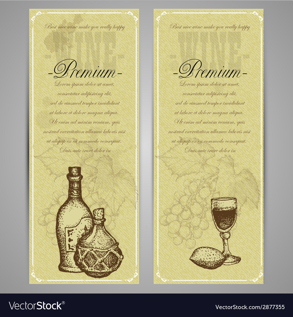 Premium food and drink menu vector | Price: 1 Credit (USD $1)