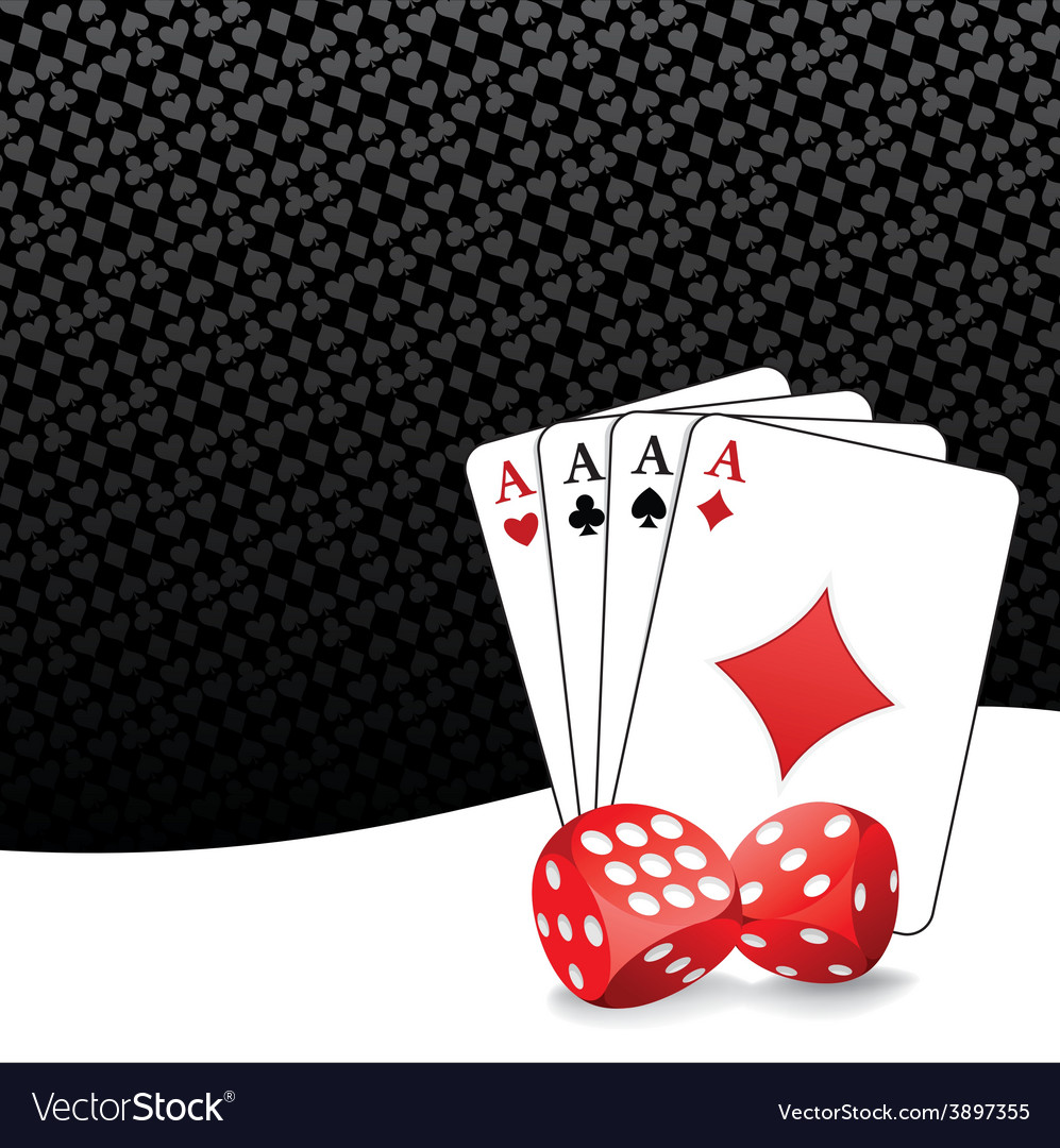 Stylized gambling background vector | Price: 1 Credit (USD $1)
