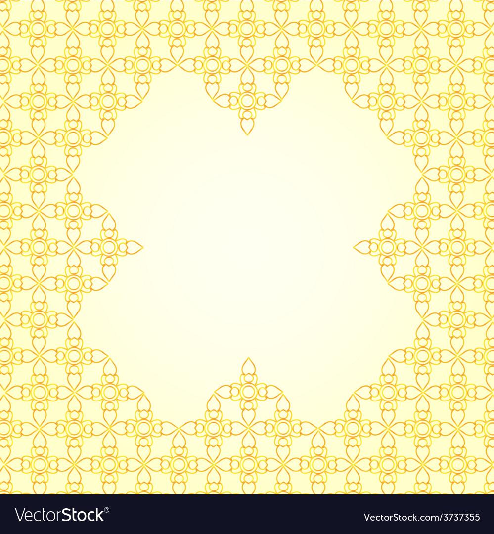 Thai art pattern background vector | Price: 1 Credit (USD $1)