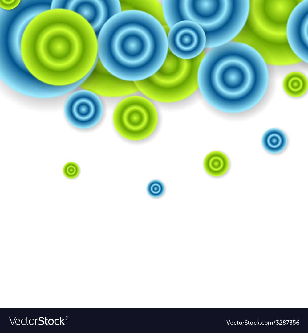 Bright abstract circles design vector | Price: 1 Credit (USD $1)