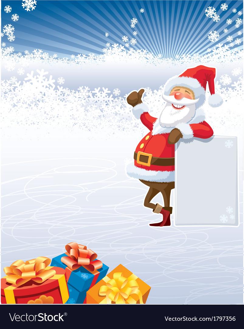 Christmas of santa claus vector | Price: 1 Credit (USD $1)