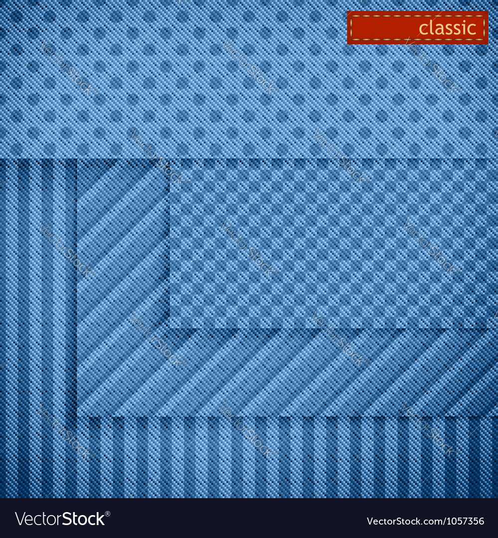 Fabric patterns for website background design vector | Price: 1 Credit (USD $1)