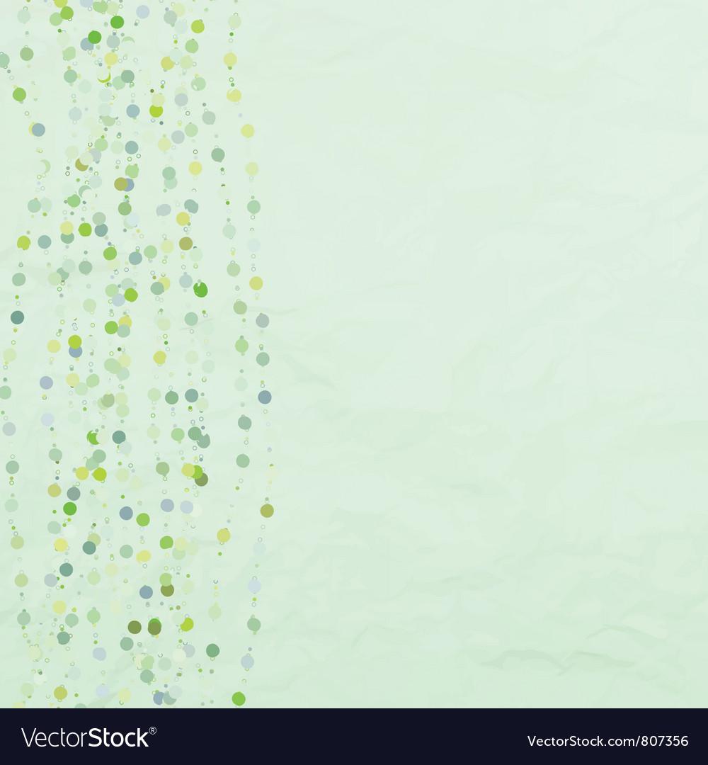 Vintage dots background vector   Price: 1 Credit (USD $1)
