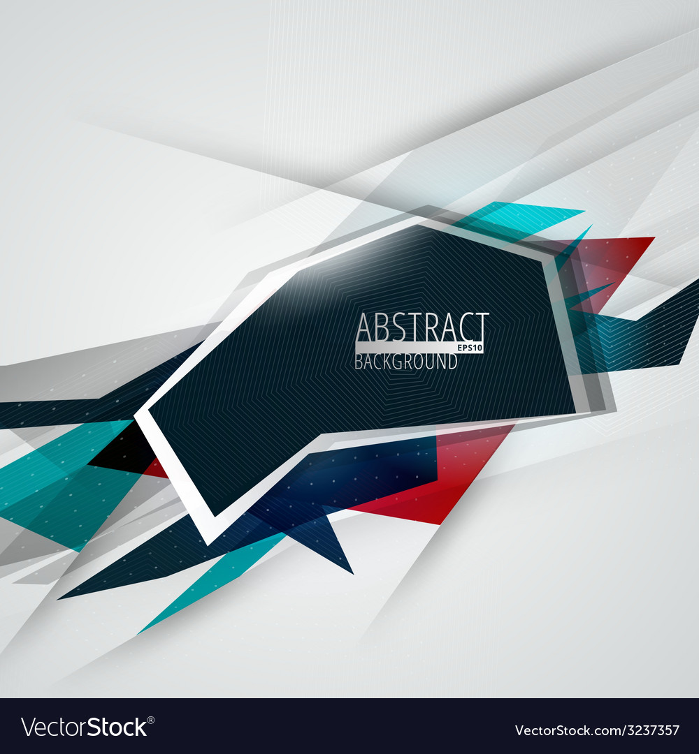 Futuristic abstract lines background vector   Price: 1 Credit (USD $1)