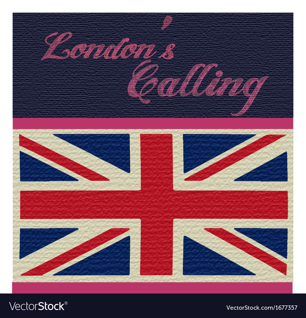 London calling vector | Price: 1 Credit (USD $1)
