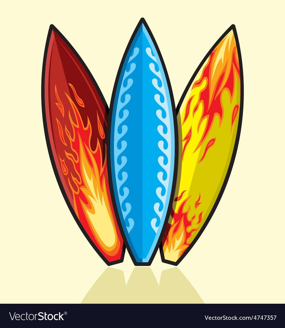 Surf daska 3 kom resize vector | Price: 1 Credit (USD $1)