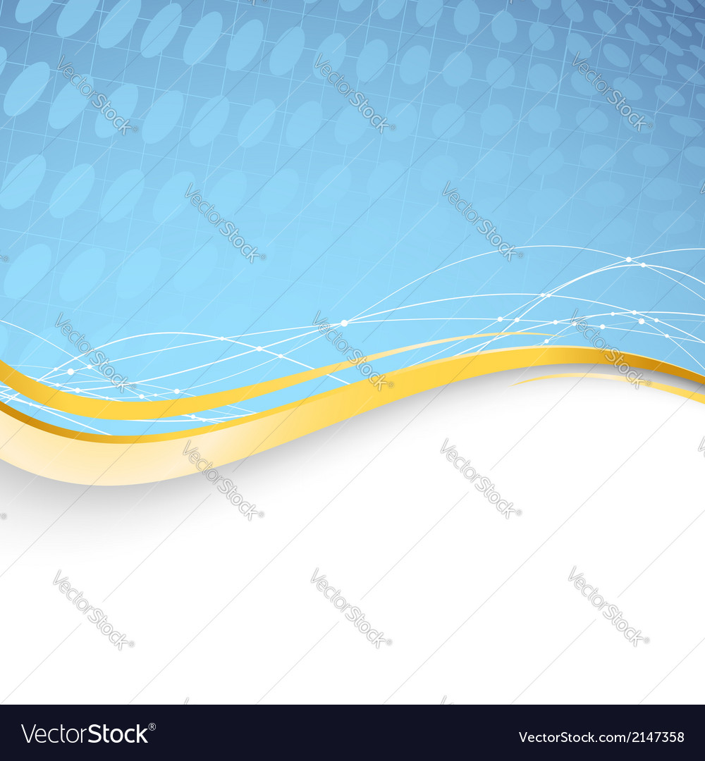 Blue folder abstract border template vector | Price: 1 Credit (USD $1)