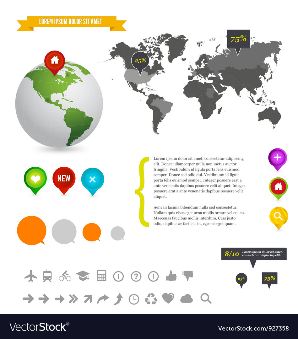 Detail info graphic vector | Price: 3 Credit (USD $3)