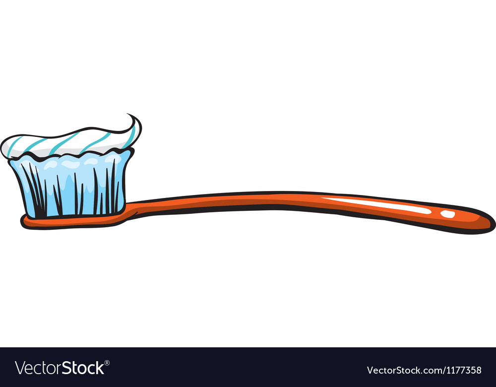 Toothbrush vector | Price: 1 Credit (USD $1)