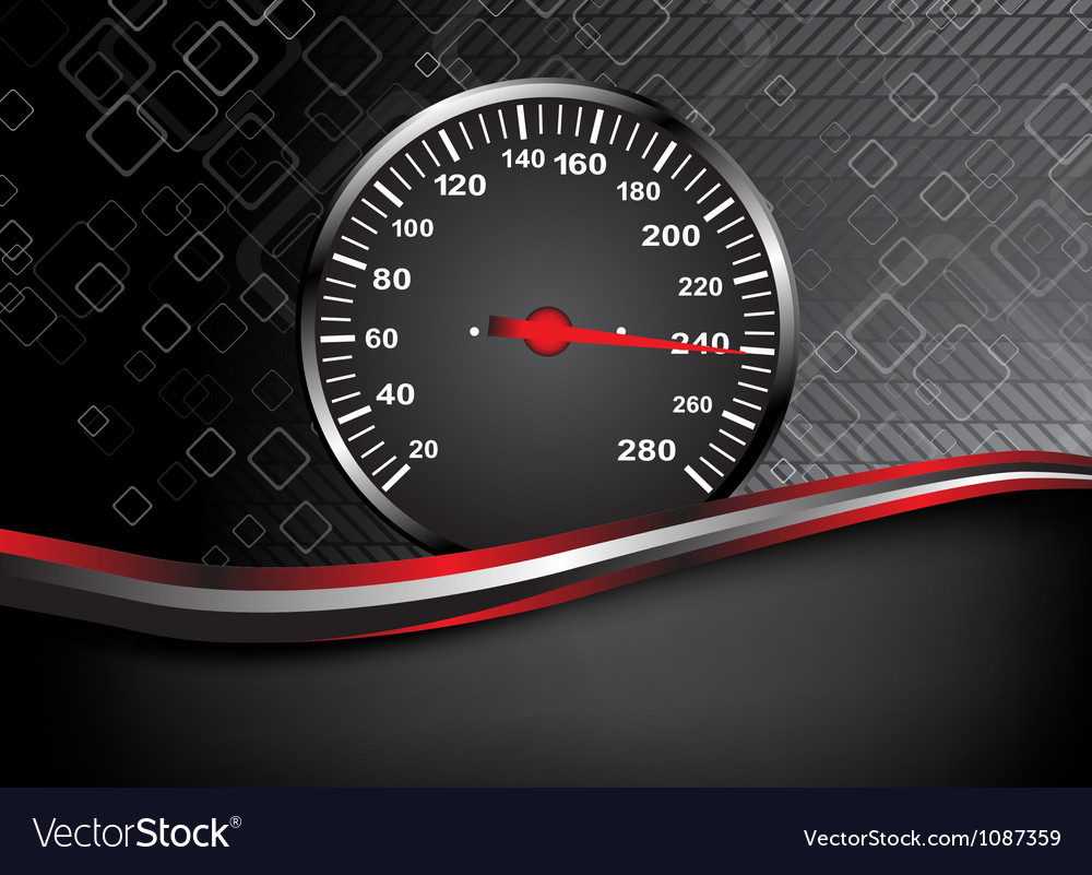 Car speedometer abstract background vector | Price: 1 Credit (USD $1)