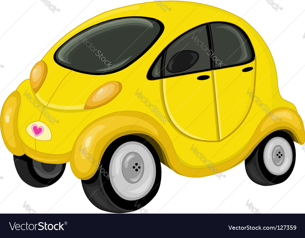 Cute car vector | Price: 1 Credit (USD $1)