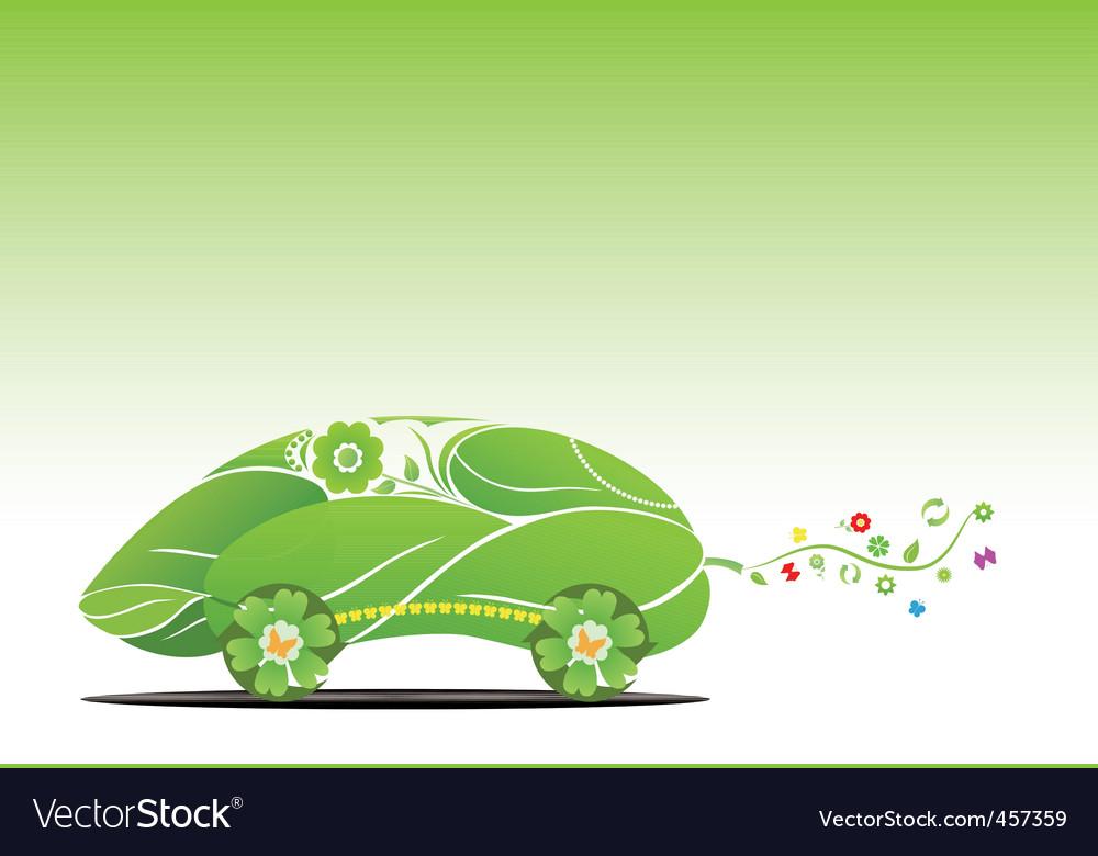 Eco car vector   Price: 1 Credit (USD $1)