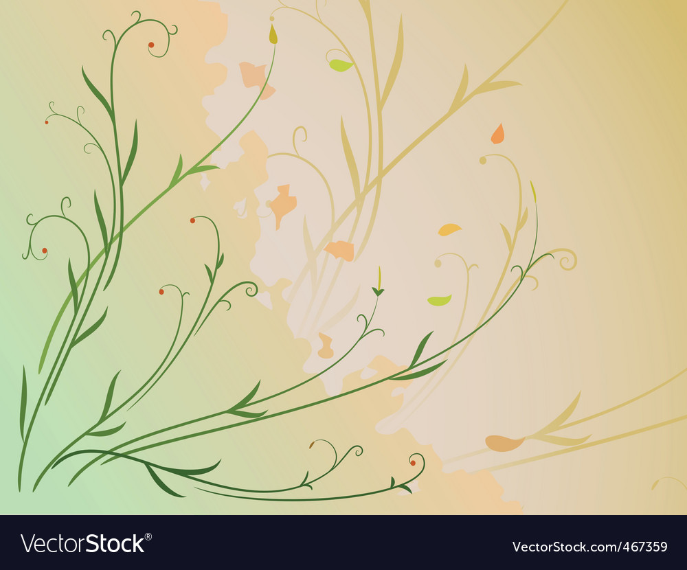 Leaf and berries vector | Price: 1 Credit (USD $1)