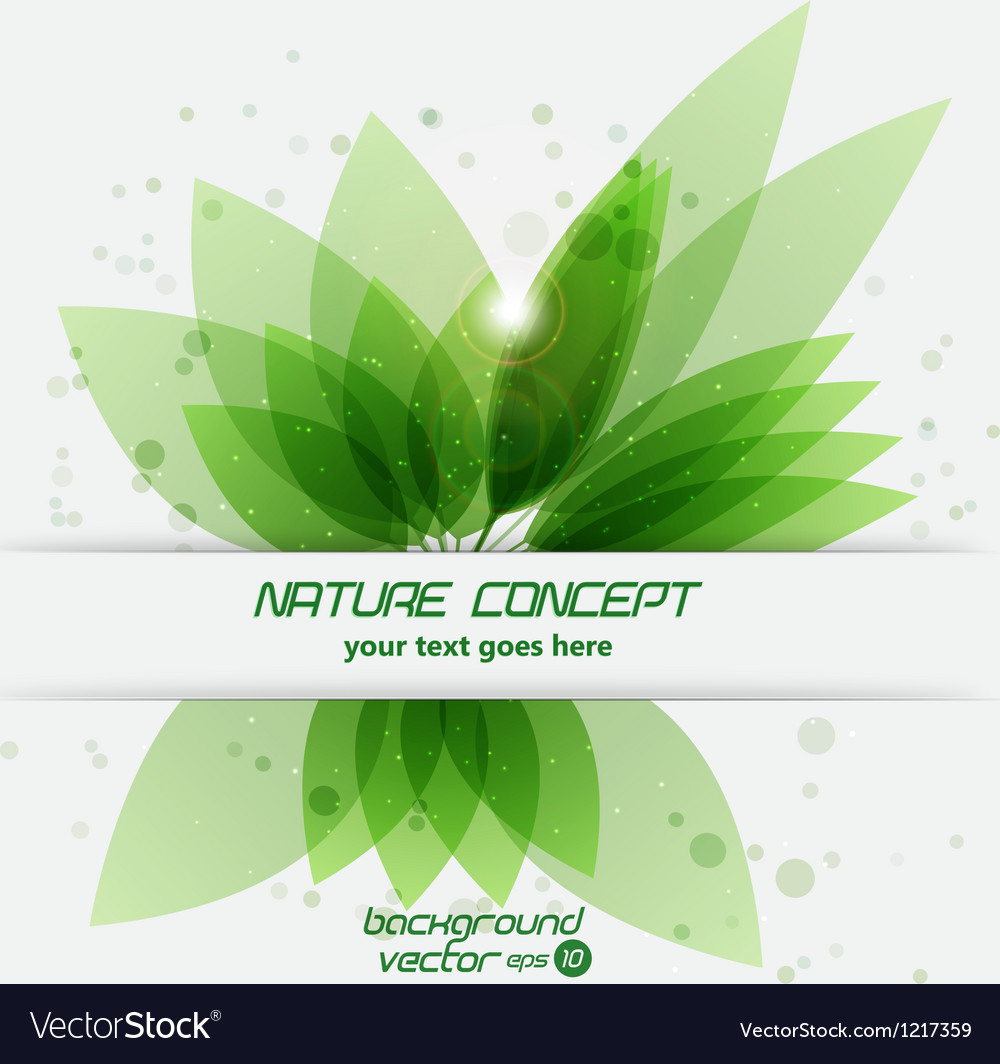 Leaf concept 2 vector | Price: 1 Credit (USD $1)