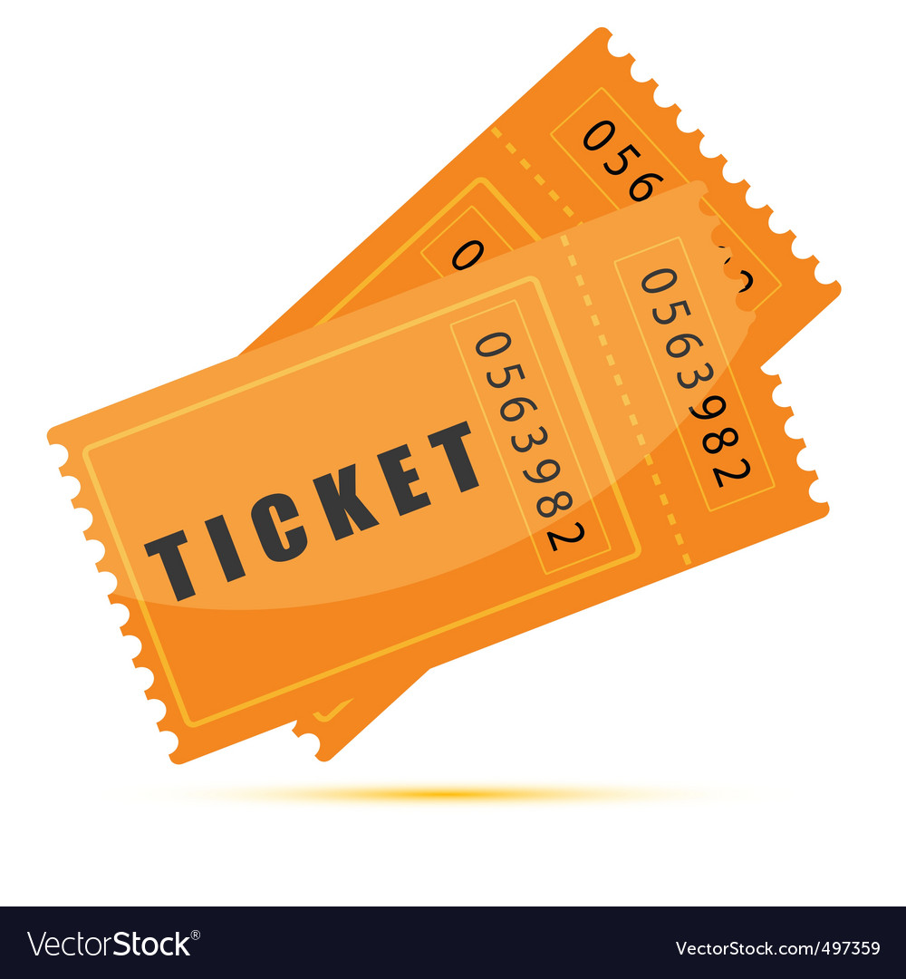 Movie tickets vector | Price: 1 Credit (USD $1)