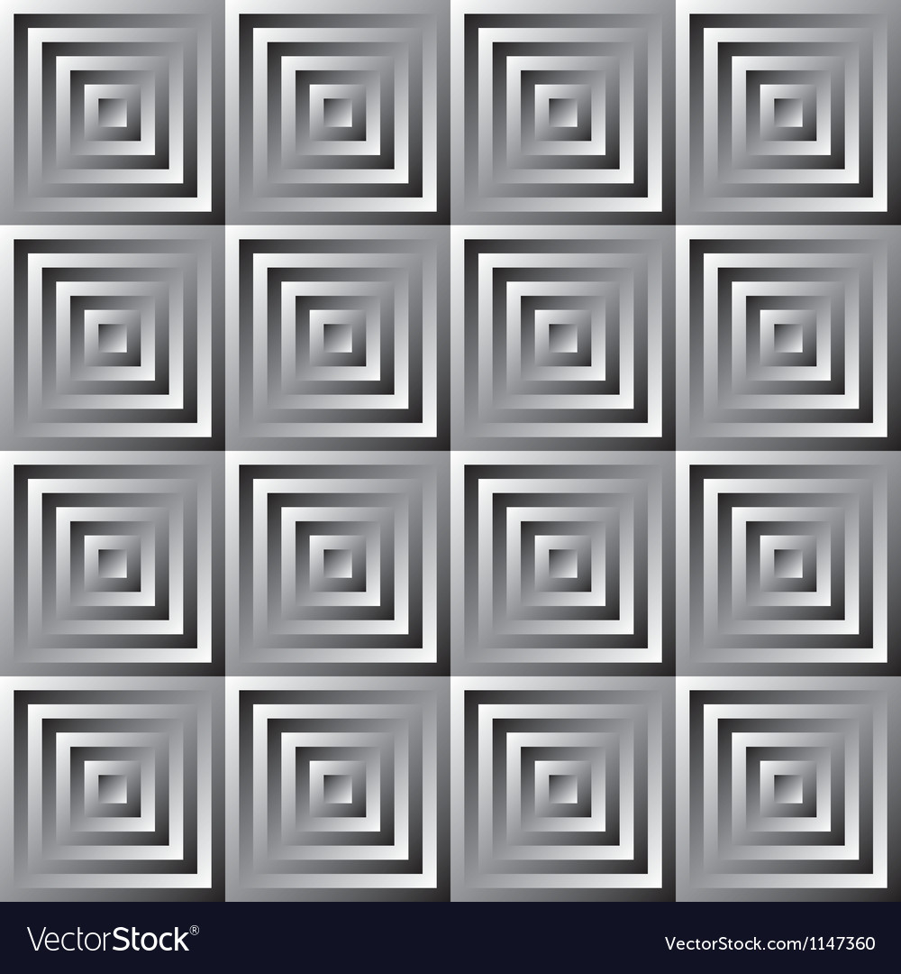 Abstract monochrome pattern of squares vector | Price: 1 Credit (USD $1)