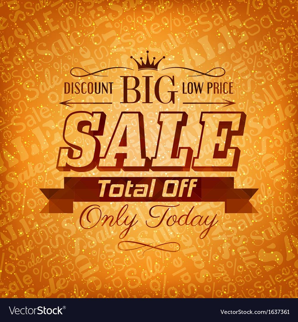 Autumn sale background vector   Price: 1 Credit (USD $1)