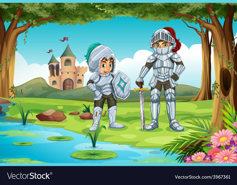 Knights vector   Price: 3 Credit (USD $3)