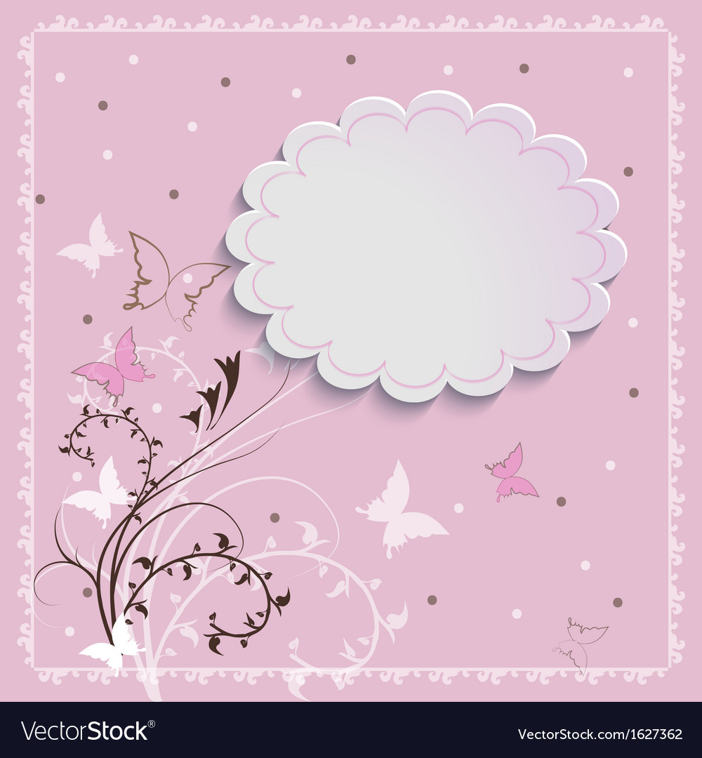 Beautiful card vector | Price: 1 Credit (USD $1)