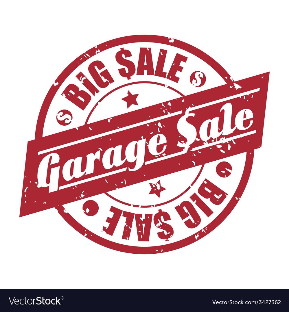 Garage sale design vector | Price: 1 Credit (USD $1)