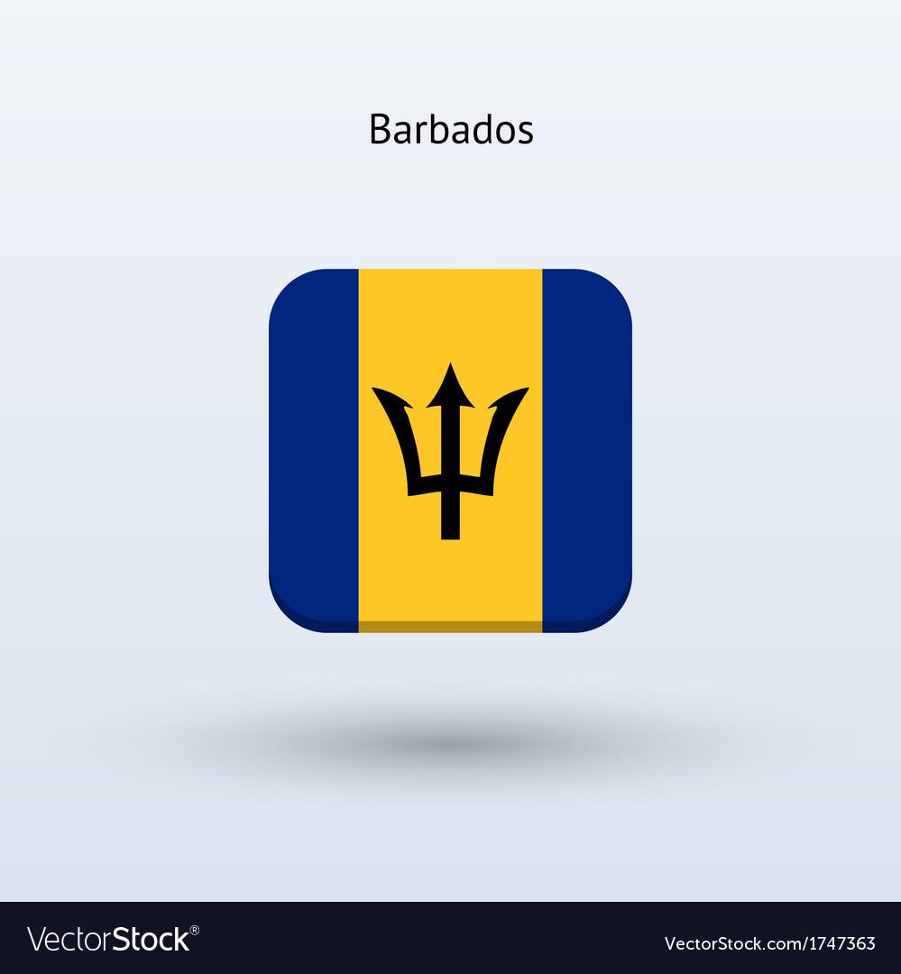 Barbados flag icon vector | Price: 1 Credit (USD $1)
