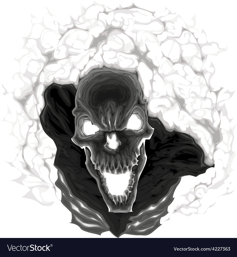 Black skeleton vector | Price: 3 Credit (USD $3)