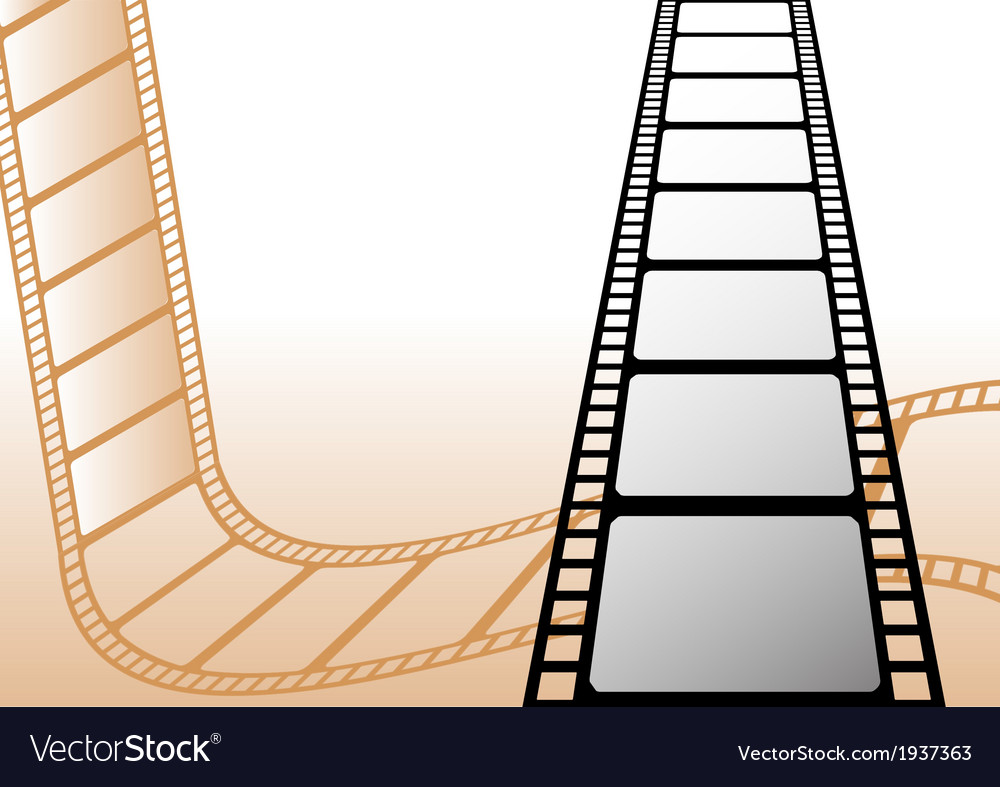 Filmstrips vector | Price: 1 Credit (USD $1)
