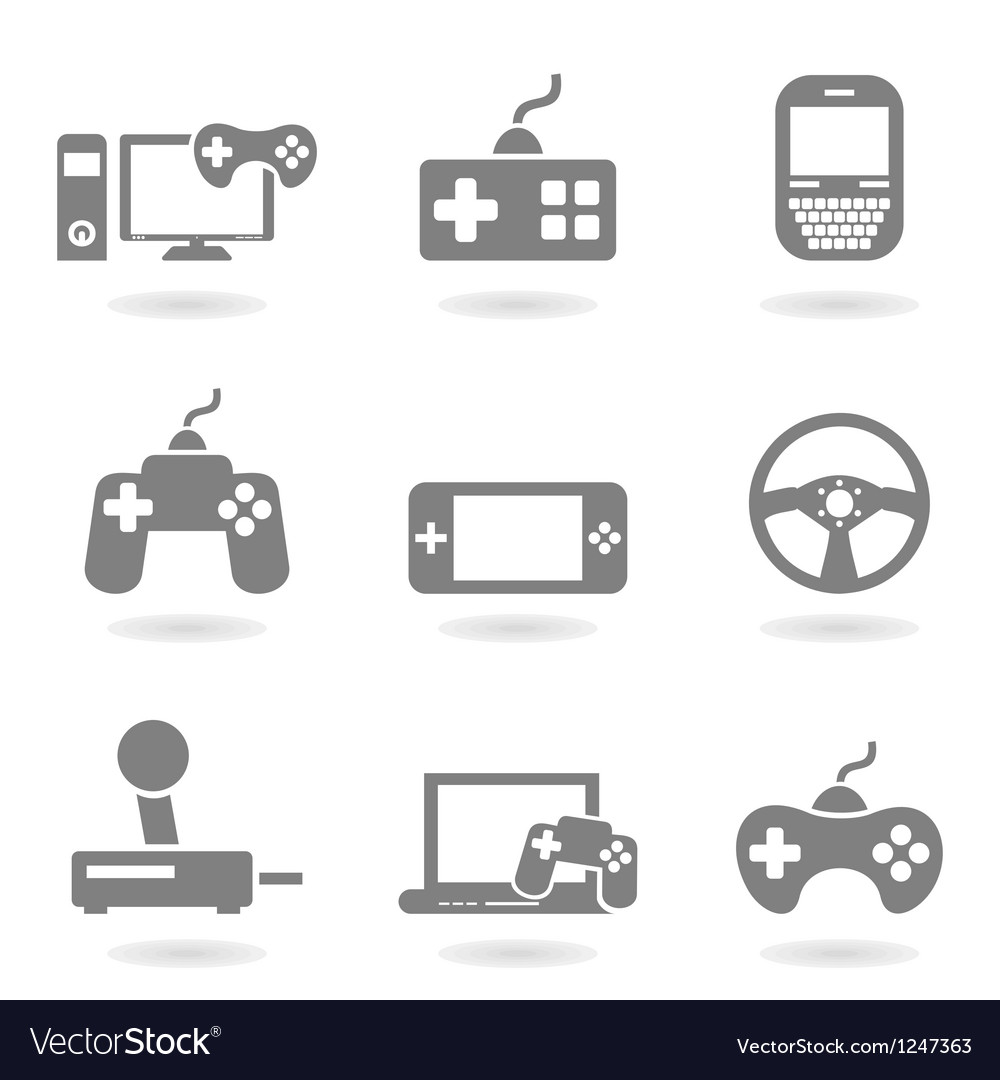 Game an icon vector | Price: 1 Credit (USD $1)
