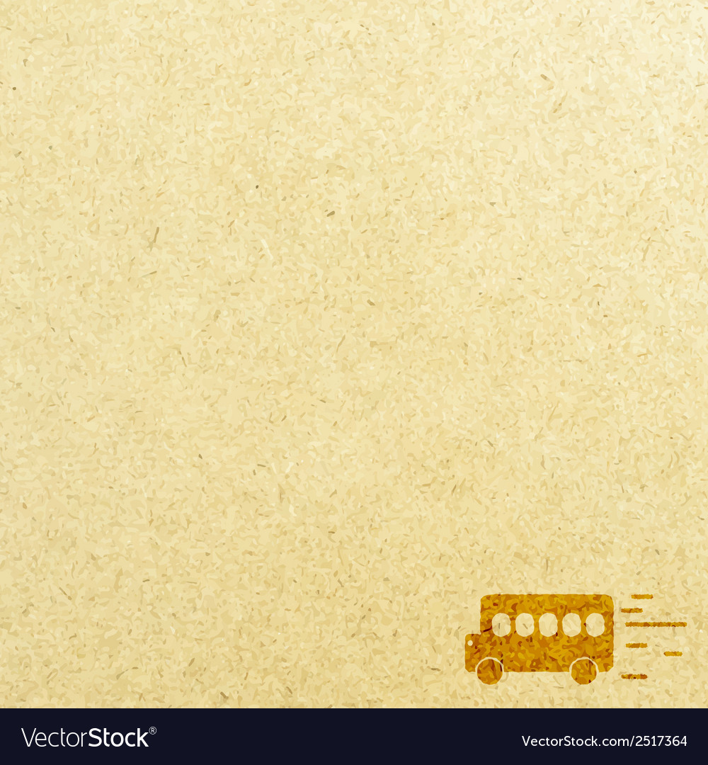 Bus road and paper vector | Price: 1 Credit (USD $1)