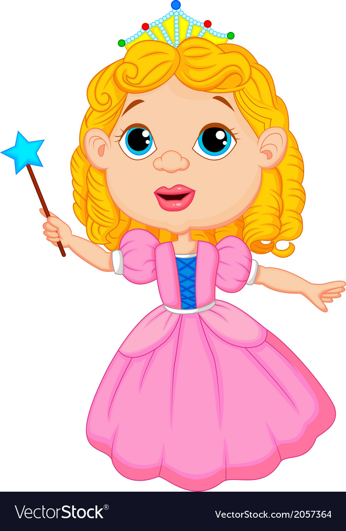 Cute fairy cartoon vector | Price: 1 Credit (USD $1)