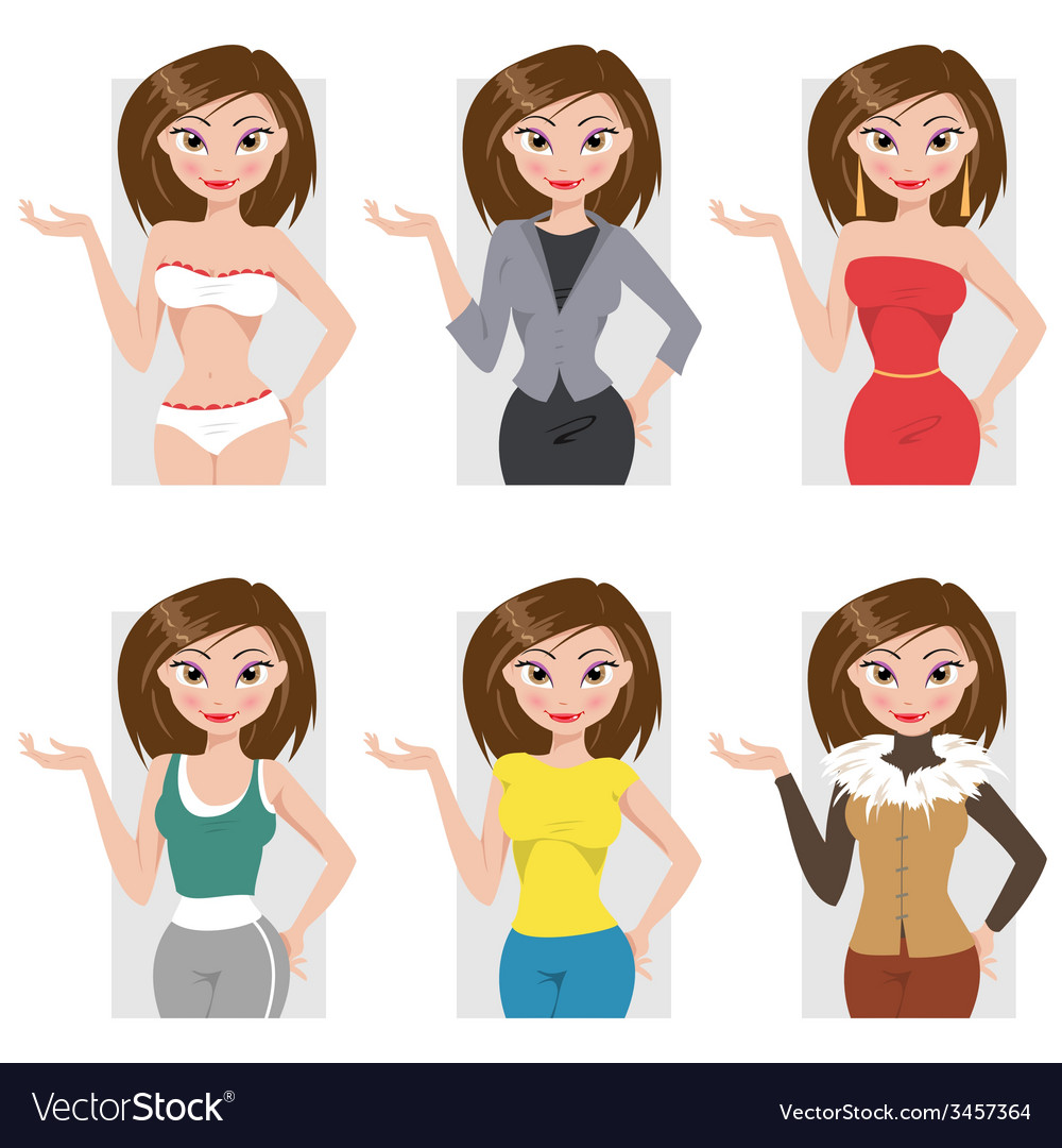 Different styles of clothing vector   Price: 1 Credit (USD $1)