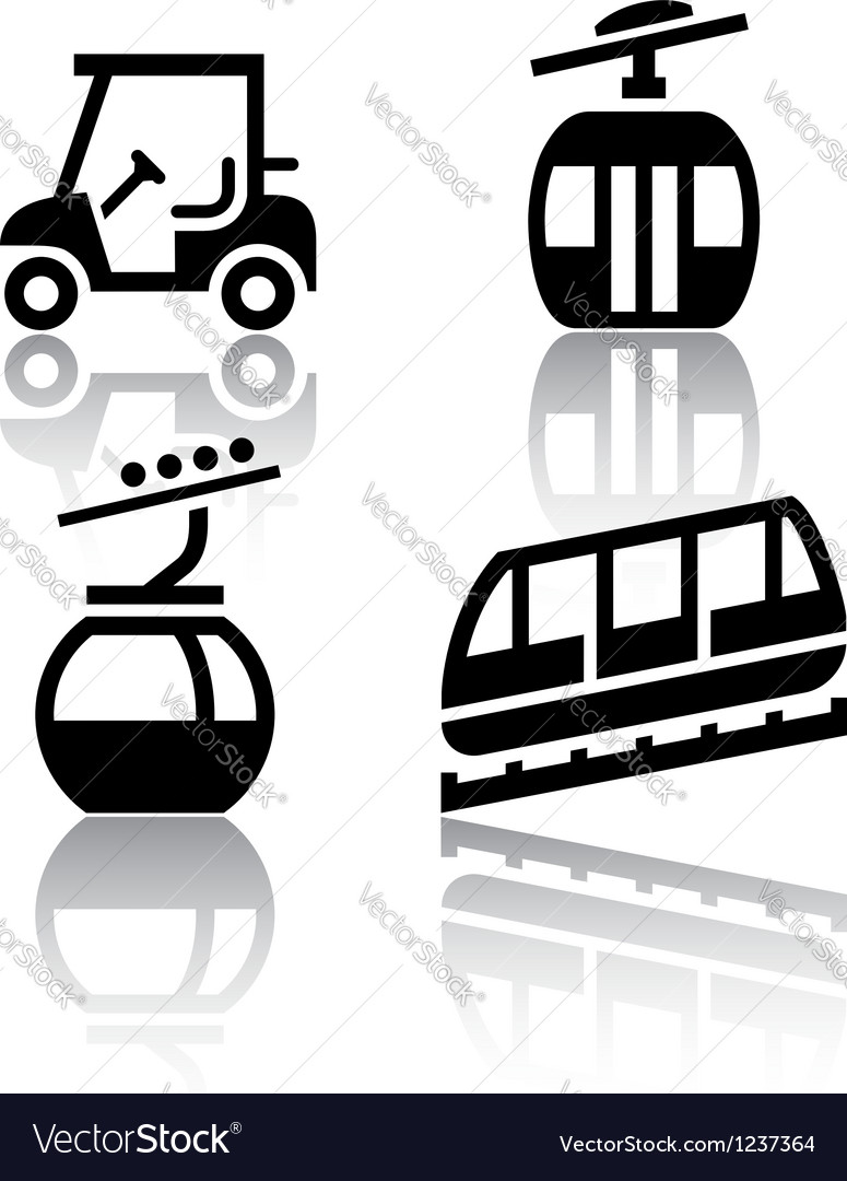 Set of transport icons - recreation vector | Price: 1 Credit (USD $1)