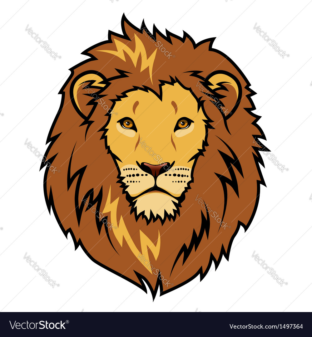 Tribal lion vector | Price: 1 Credit (USD $1)