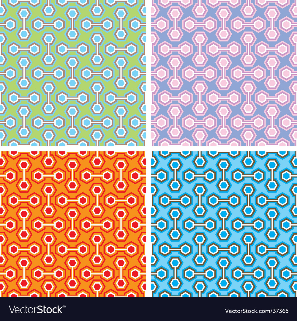 Abstract hexagonal pattern vector | Price: 1 Credit (USD $1)