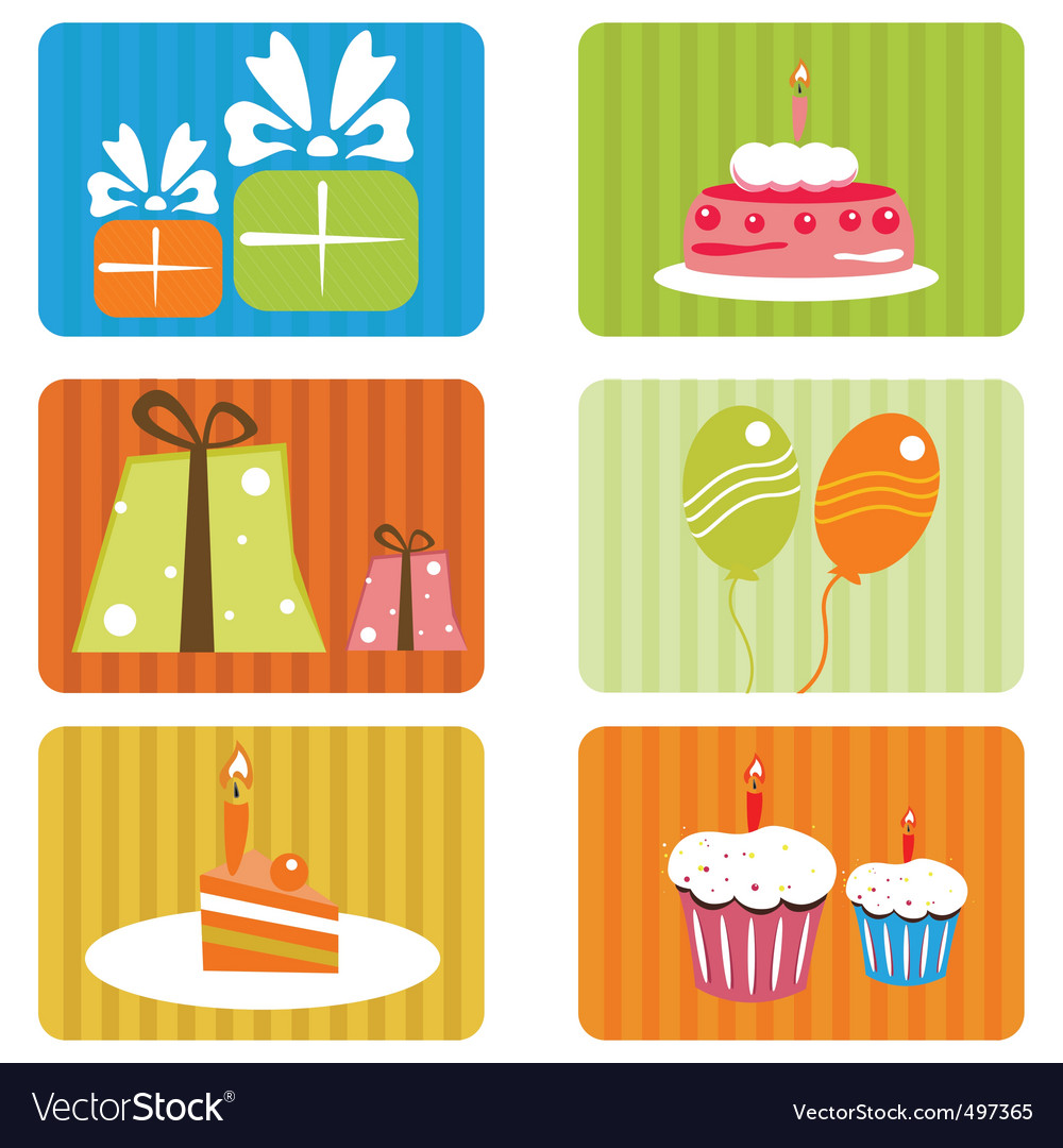 Birthday template vector | Price: 1 Credit (USD $1)