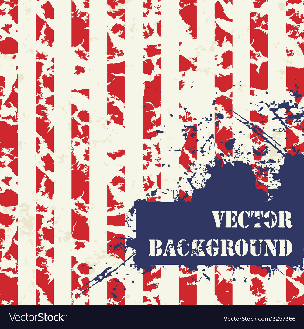 Abstract striped grunge background vector | Price: 1 Credit (USD $1)