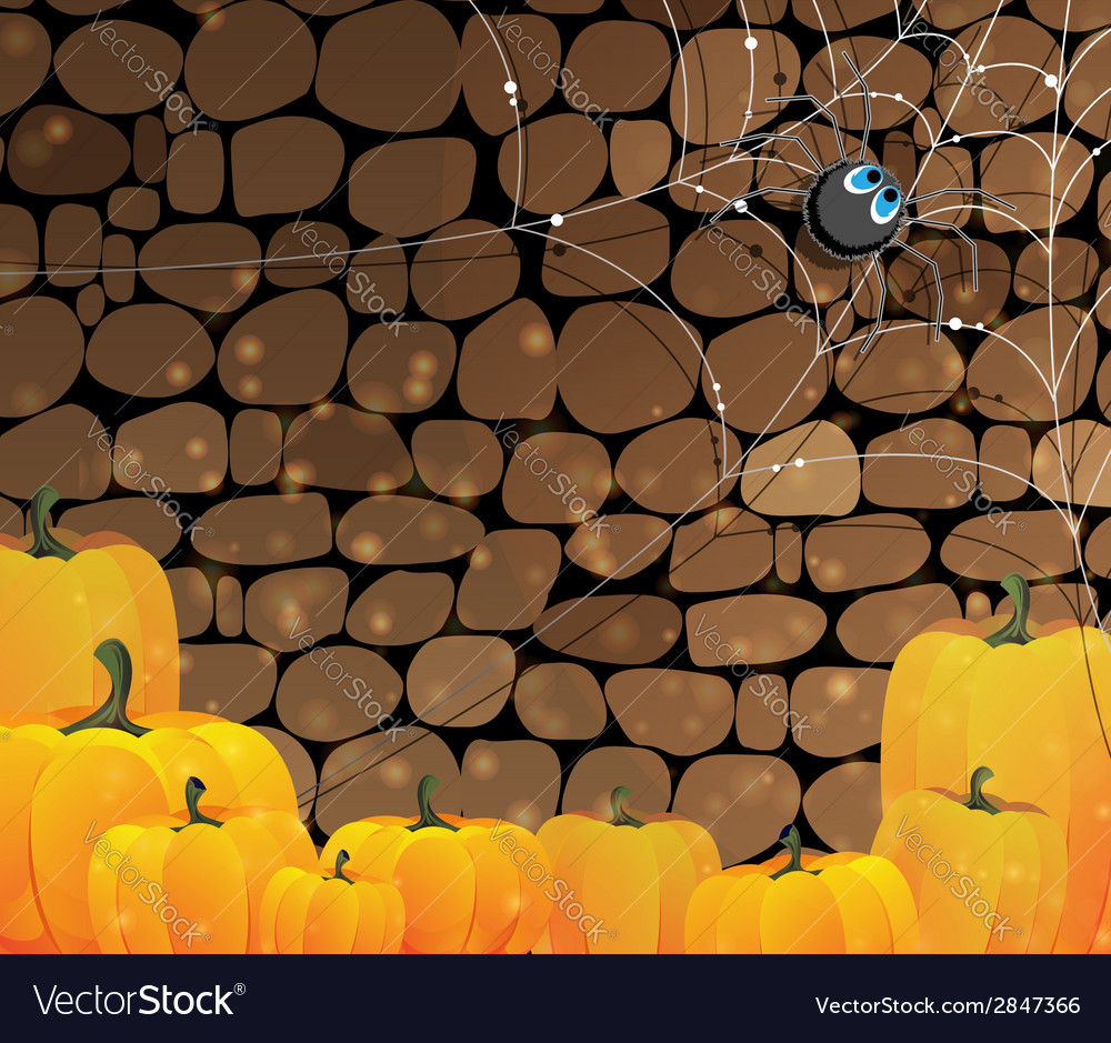 Dark dungeon halloween background vector | Price: 1 Credit (USD $1)