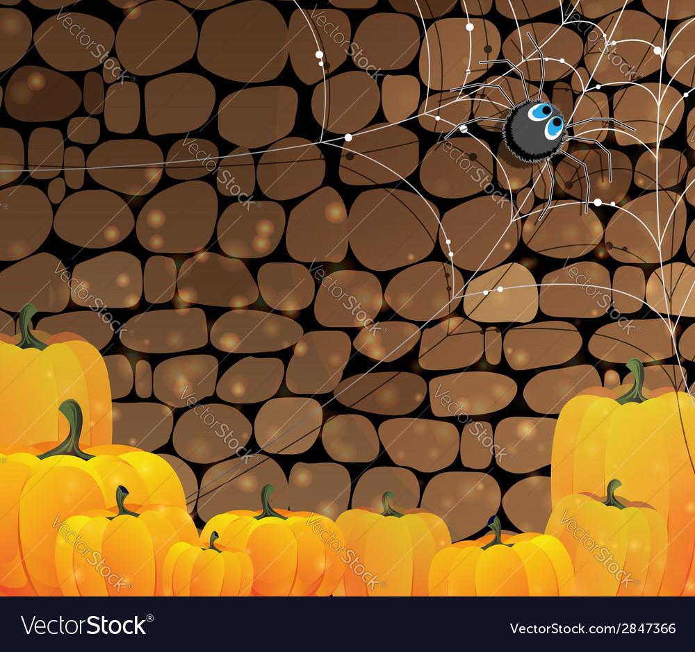 Dark dungeon halloween background vector | Price: 1 Credit (USD $1)