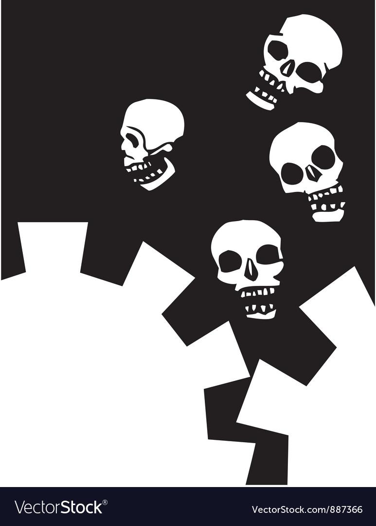 Gear skull vector | Price: 1 Credit (USD $1)