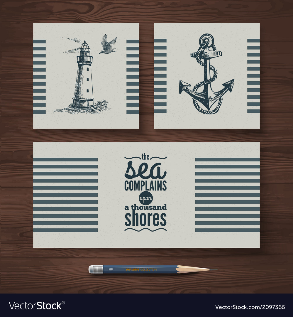 Identity set of travel banners vector | Price: 1 Credit (USD $1)