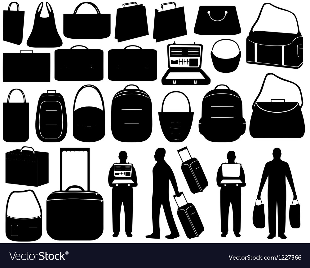 Luggage vector | Price: 1 Credit (USD $1)