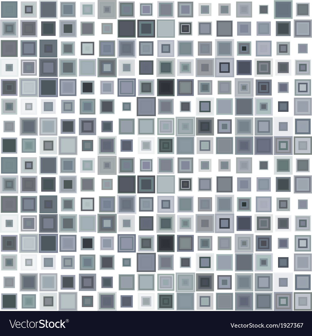 Abstract seamless pattern mosaic background vector | Price: 1 Credit (USD $1)