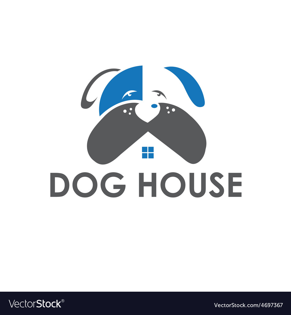 Dog house design template vector | Price: 1 Credit (USD $1)