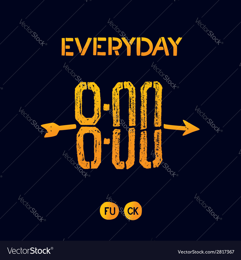 Everyday 800 vector | Price: 1 Credit (USD $1)
