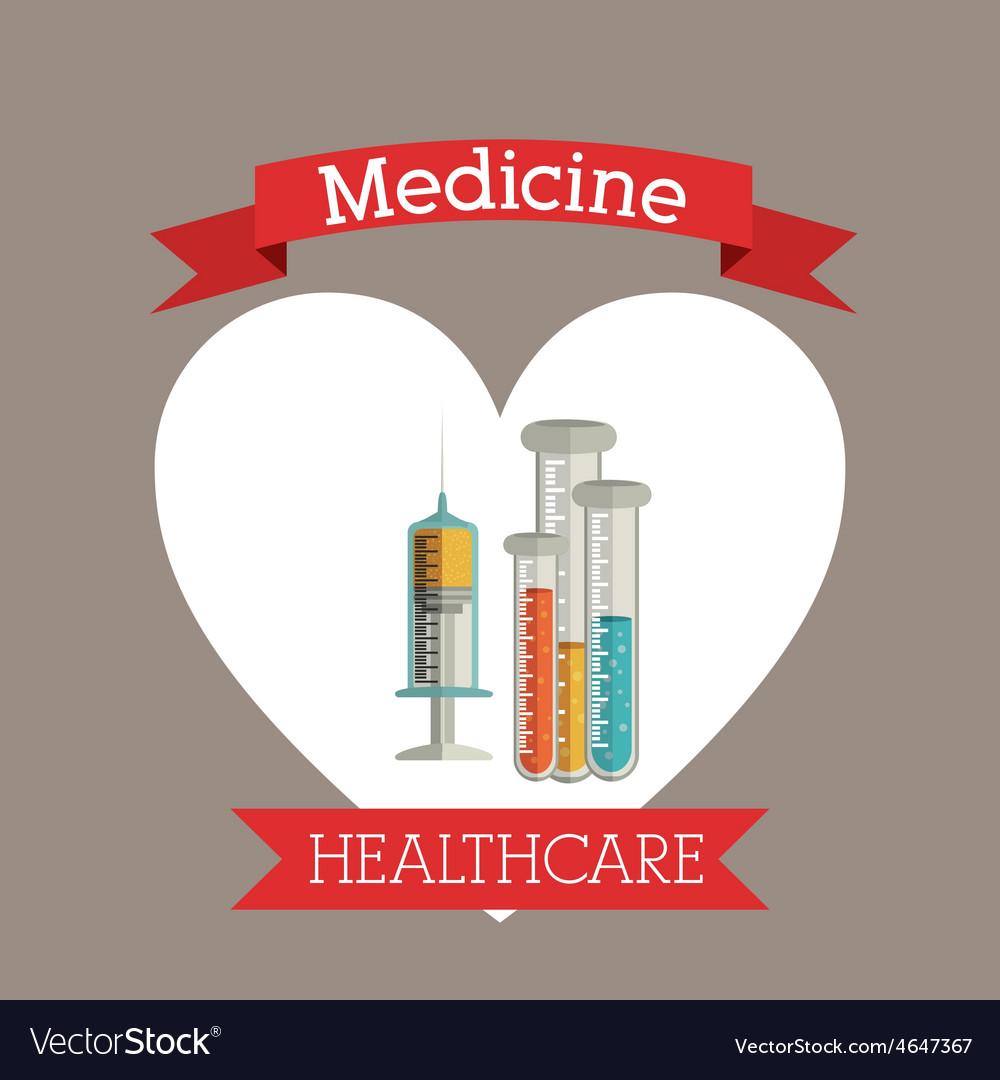 Medicine and healthcare design vector   Price: 1 Credit (USD $1)