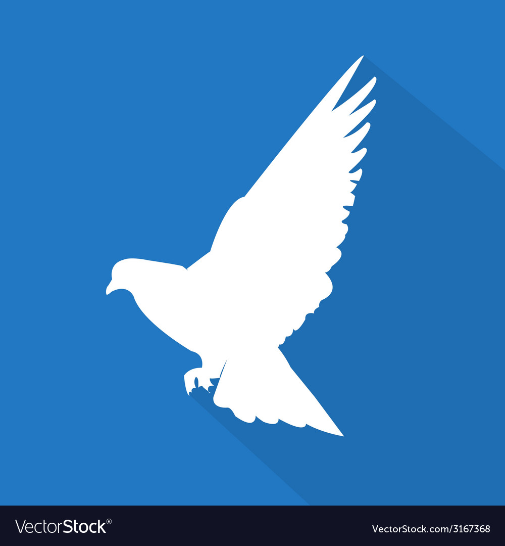 Creative dove icon vector | Price: 1 Credit (USD $1)