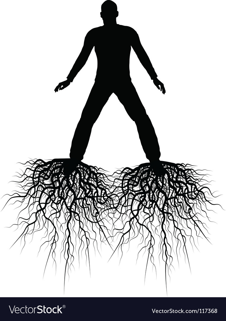 Roots vector | Price: 1 Credit (USD $1)